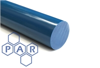 Nylon 6 Rod - Cast Blue