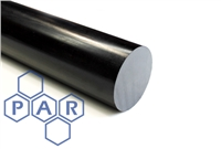 Nylon 6 Rod - Cast Black