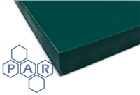 Nylon 6 Sheet - Cast Oil Filled Green