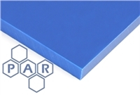 Polyethylene PE500 Sheet - HMWPE Blue