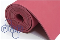 Abrasion Resistant Rubber Sheeting - Red