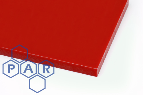 Polyethylene PE500 Sheet - HMWPE Red