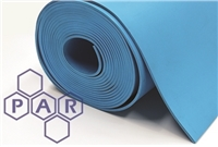 Nitrile Rubber Sheeting - Blue Food Quality