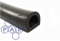 D Section Rubber Buffers