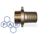 Lug Type - Brass Male BSPP x Hose Tail