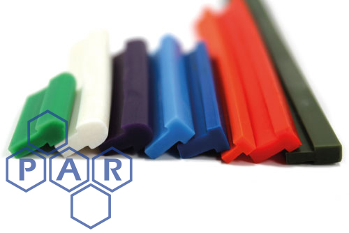 Silicone Heat Seal Profiles