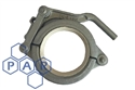 "4"" flared end single lever clamp"