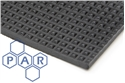 1.2mx3mm pyramid rubber matting