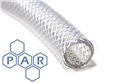 25mm id clear braided pvc hose