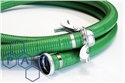76idx12m green md pvc s&d hose c/w LLC3