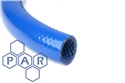 6.5mm id hd blue braided pvc hose