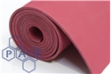 1.4mx3mm red ar rubber sheet