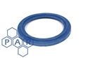 "½"" flanged blue epdm tri-clamp seal"