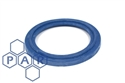"¾"" flanged blue epdm tri-clamp seal"