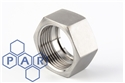"1"" IDF hexagonal nut"