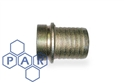 "1¼"" iron lug type male bspp x hose tail"