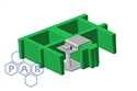 G-clamp t/s 25mm std grating cw fixings