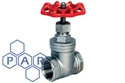 "¾"" bspp female st/st gate valve"