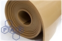 1.4mx20mm tan para rubber sheet