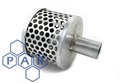 "tin can strainer x 1¼"" hose tail"