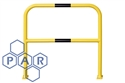 1000hx1000wx48Ø outdoor walkway barrier